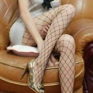 Accessories - Sexy Black Mesh Fishnet Pattern Pantyhose