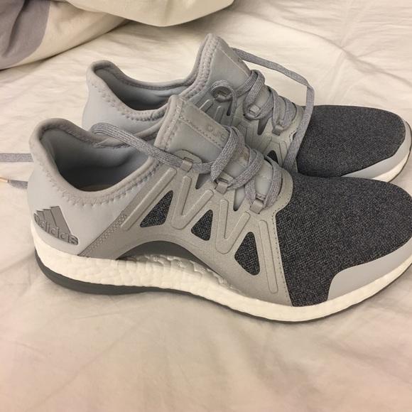 Adidas pureboost ir Import adidas pureboost primeknit negro blanco