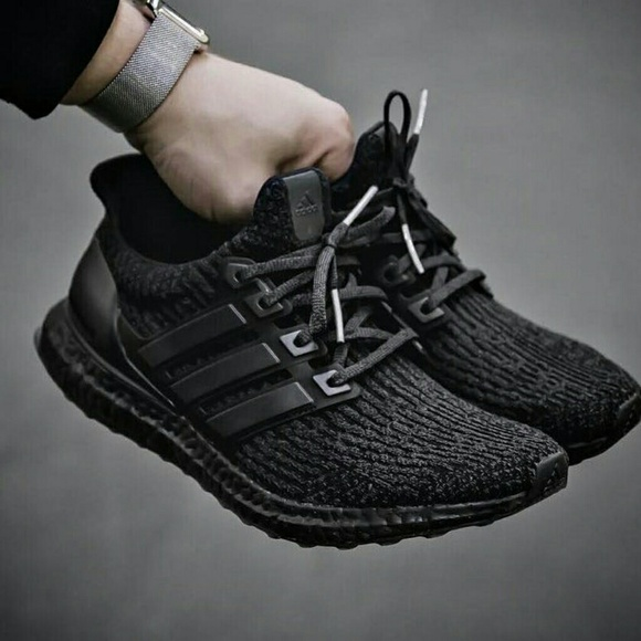 online store e2772 fd5ce Adidas Ultra Boost 3.0 Triple Black (2017 Release)