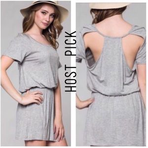 Honey Punch Dresses & Skirts - ❌NO OFFERS❌HONEY PUNCH CUT OUT BACK T DRESS