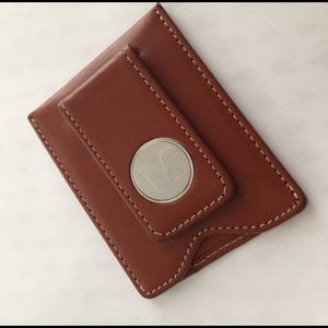 "Bissinger Smith Other - Genuine Leather Wallet w ""M"" monogram"