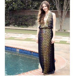 bebe Dresses & Skirts - Printed Maxi Dress