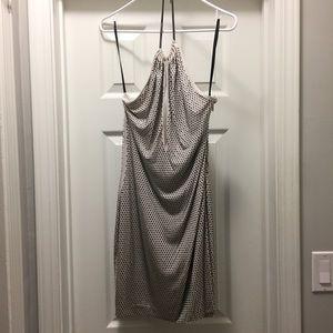 bebe Dresses & Skirts - Rhinestone halter dress