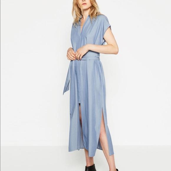 657da787 Zara Tops | Long Tunic With Slits Small | Poshmark