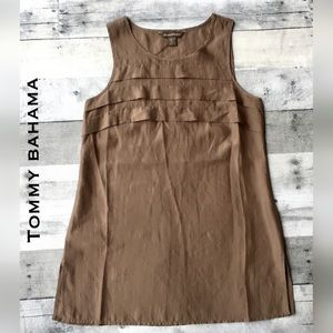 Tommy Bahama Tops - LNWOT-Silky bronze shell is ready to vacay 🌴👙🌞