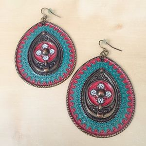 Jewelry - Colorful Boho Earrings