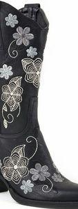 Roper Shoes - Black Boots