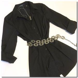 Tahari Tops - Tahari Roll Tab Sleeve Tunic