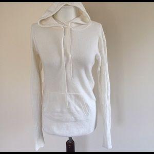 J. Crew Sweaters - J Crew ivory cashmere hoodie medium orig. $228