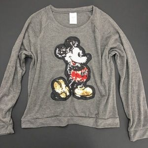 Disney Sweaters - Disney Mickey Mouse Sequin Sweater
