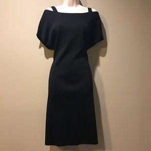 Misook Dresses & Skirts - Exclusively Misook Black Knit Shift dress, Med