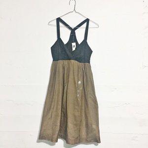 GAP Dresses & Skirts - NWT The Gap Bronze & Black dress