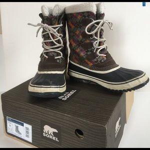Sorel Shoes - Sorel Women's NL 1557 1964 Pac Graphic Snow Boot