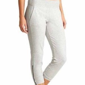 Athleta Pants - Athleta Palomar Capri pants in light gray heather