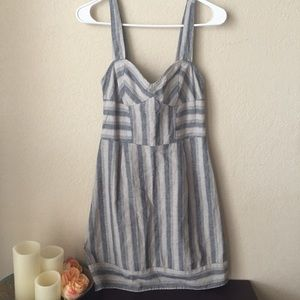 Urban outfitters OU kimchi blue linen dress strip