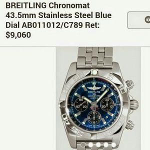 Breitling Other - Breitling Choromat 43.5mm