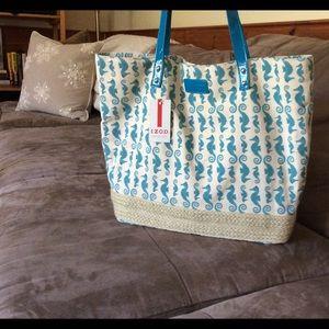Izod Handbags - IZod tote bag or beach bag