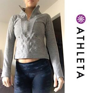 Athleta Tops - 🍩Athleta Grey Sweatshirt🍩