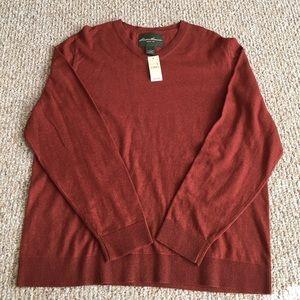Eddie Bauer Other - NWT Eddie Bauer V-neck Sweater