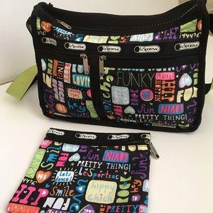 LeSportsac Handbags - LeSportsac crossbody bag