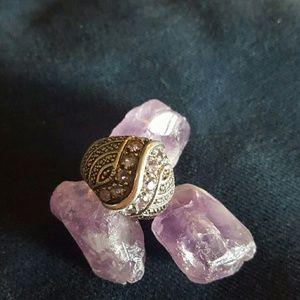 Jewelry - Vintage Sterling Amethyst Ring