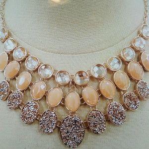 New York & Company Jewelry - 3 Rows Statement Necklace