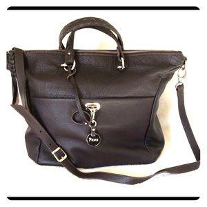 Huge Italian leather purse