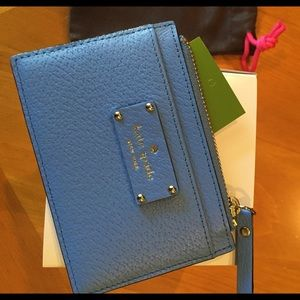 Kate Spade Leather Card Holder/New