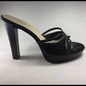 Guess by Marciano Shoes - Guess by Marciano Size 9 Suede 4in Charcoal Heels