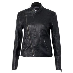 Tart Jackets & Blazers - New Tart Collections Taylor Black Leather Jacket S