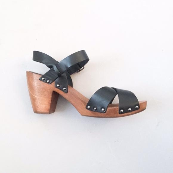 Saks Fifth Avenue Shoes | Black Clog