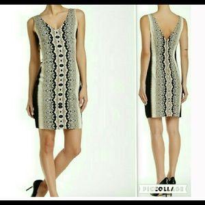ARTELIER NICOLE MILLER New 10 Dress Sheath V-neck