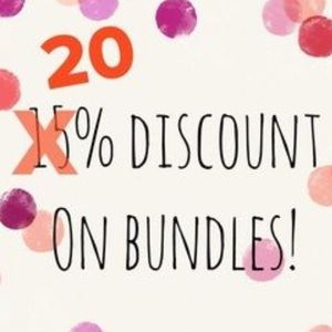 🎉🎉NOW 20% OFF🎉🎉on bundled items‼️‼️‼️