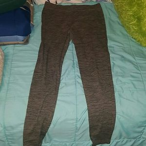 Express olive and black leggings size M