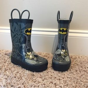 Western Chief Other - Batman rain boots size 7/8 toddler