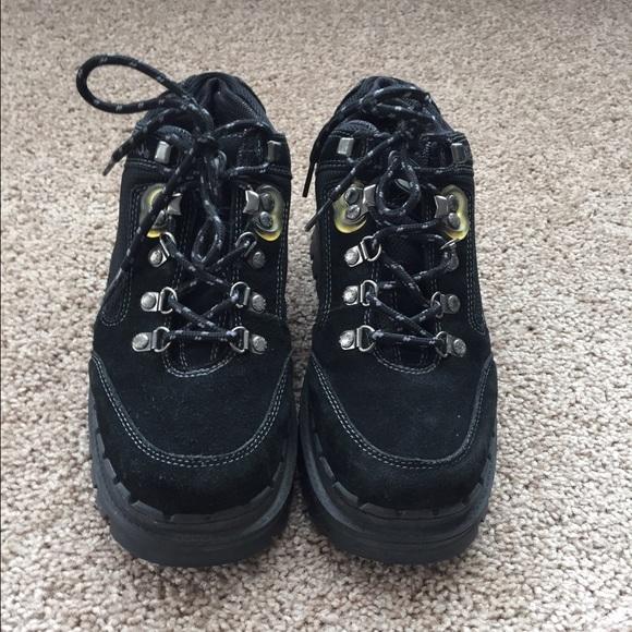 e34ece40f0 Skechers Shoes | 90s Platform Black Suede Sketcher Jammers | Poshmark
