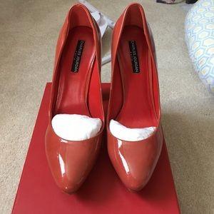 """Charles Jourdan Shoes - Charles Jourdan """"Elegant"""" Patent Pump 10"""