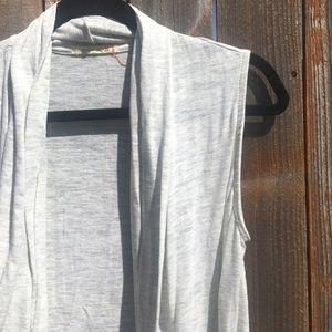 Alternative Tops - • [alternative] light grey vest •