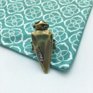 Kendra Scott NWOT Sally Ring Antique Brass