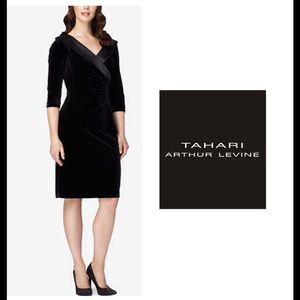 Tahari Dresses & Skirts - 🆕 Tahari Velvet Sheath Plus Size Dress