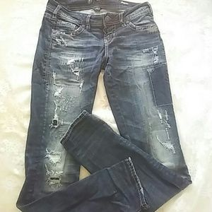 Aiko   Denim - Silver Jean Co Aiko. New never wear