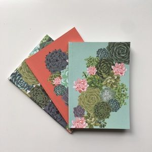 Succulent Notebooks