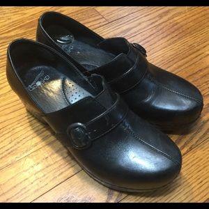 Dansko Shoes - Dansko Tamara buckle clogs