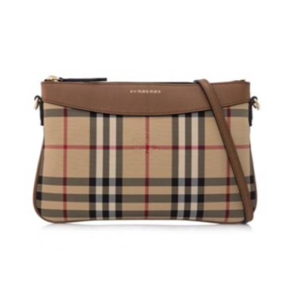 55b7234c4841 Burberry Horseferry Check Clutch Bag 📌 price firm