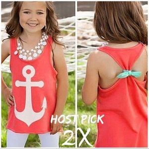 Other - 🎉🎉HOST PICK 🎉🎉Adorable girls anchor tank