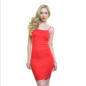 Angelina Dresses & Skirts - Angelina Red Slip Dress