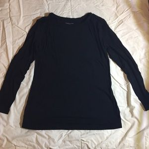 Liz Lange for Target Tops - Liz Lange Maternity Long Sleeved Black Tee, XL