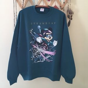 Vintage Tops - Vintage Mickey Mouse Sweatshirt
