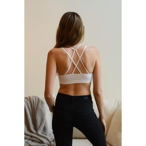 likeNarly Other - 🆕 Double Criss Cross Strappy Bralette