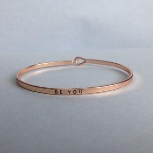 """Farah Jewelry Jewelry - """"Be You"""" Message Bracelet"""